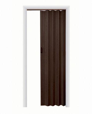 Porte Accordeon Home Style Plaza En Vinyle 36 Po X 80 Po Expresso