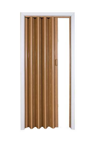 Porte Accordeon Home Style Vienna En Vinyle 36 Po X 80 Po Chene