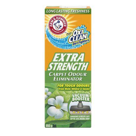 Éliminateur d'odeurs pour tapis et piècesARM & HAMMERMD Plus OxiCleanMD – Extra-fort - image 2 de 3