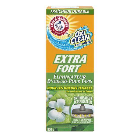 Éliminateur d'odeurs pour tapis et piècesARM & HAMMERMD Plus OxiCleanMD – Extra-fort - image 3 de 3