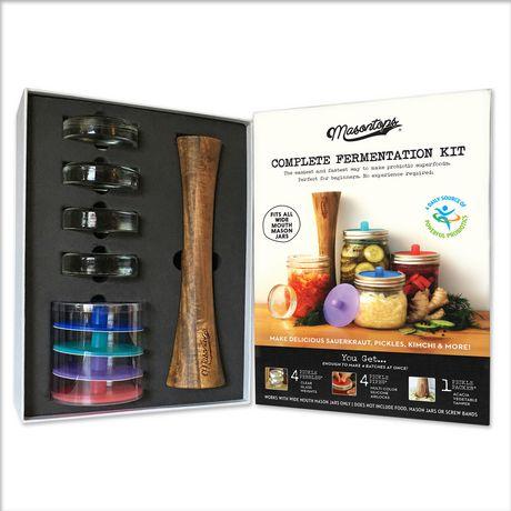 Masontops Complete Fermentation Kit, Wide Mouth, 9-Piece - image 1 of 4