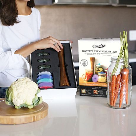 Masontops Complete Fermentation Kit, Wide Mouth, 9-Piece - image 4 of 4