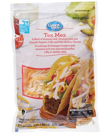 Great Value Tex Mex Shredded Cheese - image 1 of 2