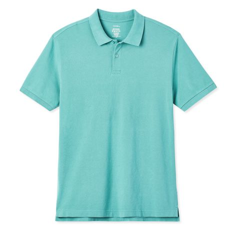 George Men's Solid Pique Polo - image 6 of 6