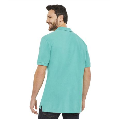 George Men's Solid Pique Polo - image 3 of 6