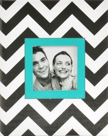 Album de photos Pinnacle Frames à motif de chevron à 2 photos par page - image 1 de 1