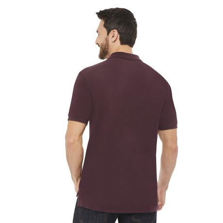 George Plus Men's Solid Pique Polo - image 3 of 6