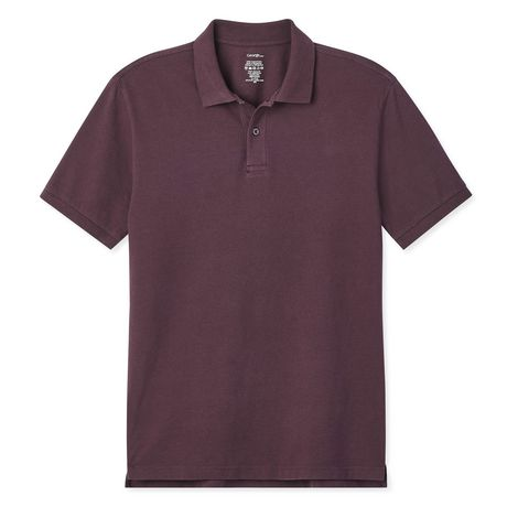 George Plus Men's Solid Pique Polo - image 6 of 6