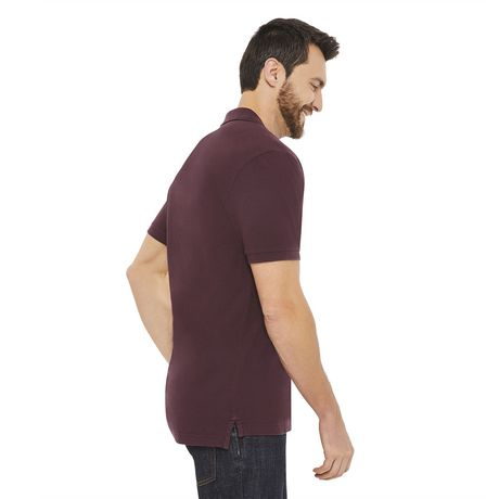George Plus Men's Solid Pique Polo - image 2 of 6