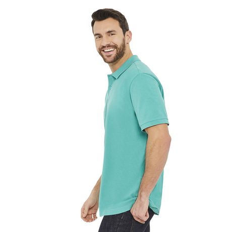 George Men's Solid Pique Polo - image 2 of 6