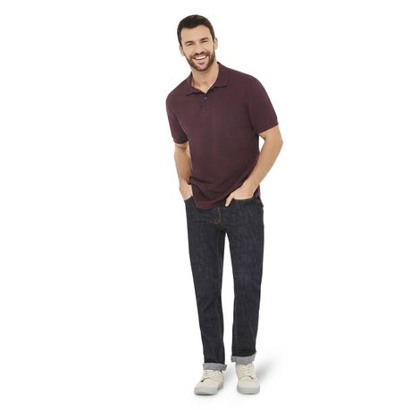 George Plus Men's Solid Pique Polo - image 5 of 6