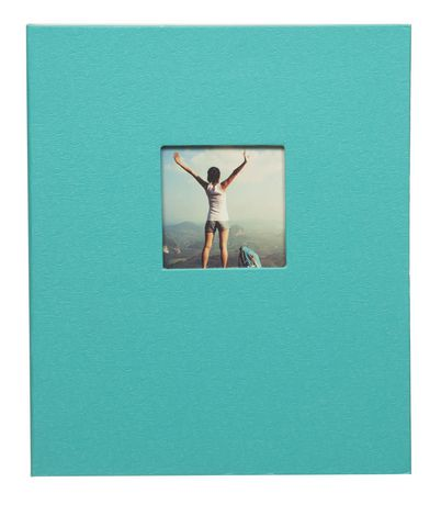 Pinnacle Frames 2-up Teal Photo Album | Walmart Canada