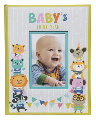Pinnacle Frames Babys First Year Photo Album