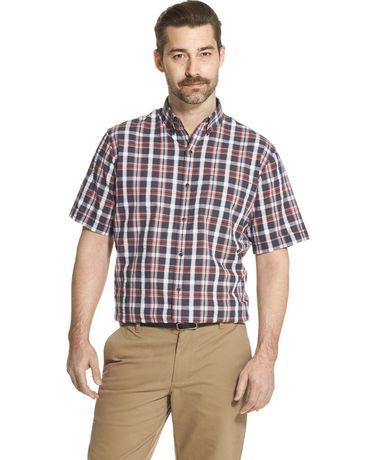 Arrow Men's Short Sleeve Casual Shirt - image 1 of 2