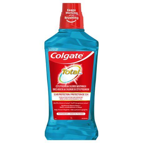 Rince-bouche explosion de menthe poivrée Total de Colgate - image 1 de 3