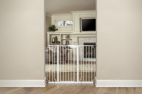 Regalo Extra Tall WideSpan Walk Through Baby Safety Gate - image 4 of 4
