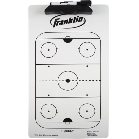 Franklin Sports Hockey Clipboard - image 1 of 1