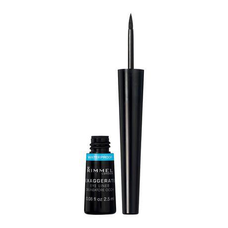 065d022123a Rimmel London Exaggerate Waterproof Liquid Eye Liner - image 1 of 4 ...