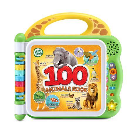 LeapFrog 100 Animals Book Bilingual Edition - image 1 of 8