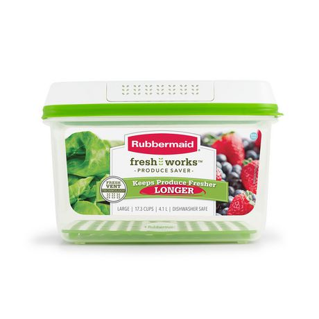 Vegetable Saver Containers Rubbermaid freshworks produce saver food storage container size workwithnaturefo