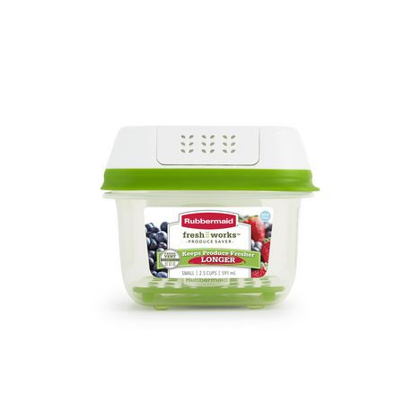 Rubbermaid FreshWorks Produce Saver™ Food Storage Container ...