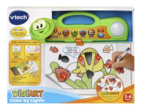 VTech® Digiart Color by Lights™ - English Version - image 4 of 9