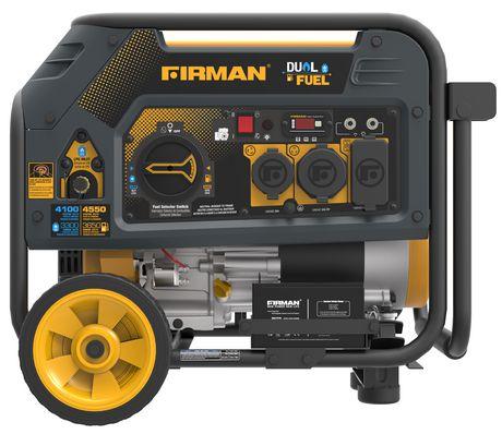 Firman Power Equipment H03651 Dual Fuel 4550/3650 Watt (hybrid Series) Extended Run Time Generator - image 1 of 7