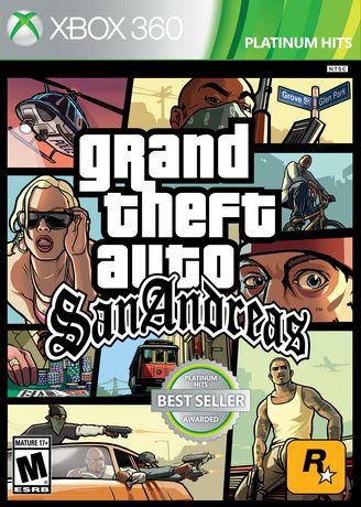Jeu vidéo Grand Theft Auto: San Andreas pour Xbox 360 - image 1 de 1