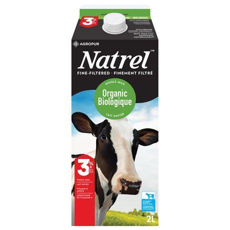 Natrel Organic Fine-filtered 3.8% Milk - image 2 of 5