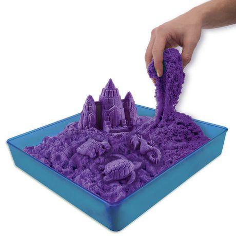 Kinetic Sand Wacky-tivities Sandbox & Moulds (colours Vary)