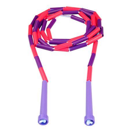 Corde à sauter segmentée 8-pi (rose/violet) - image 1 de 1