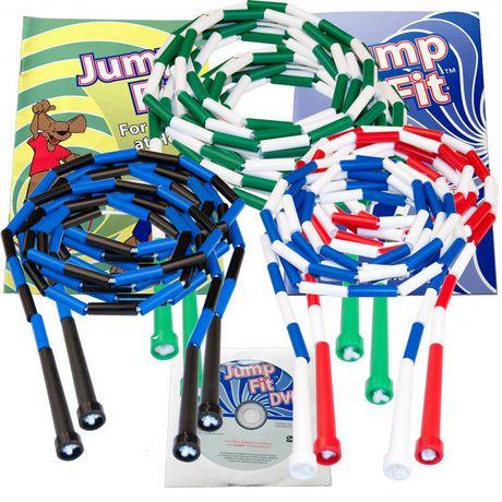 Ens. de cordes à sauter segmentées pour la famille - image 1 de 2