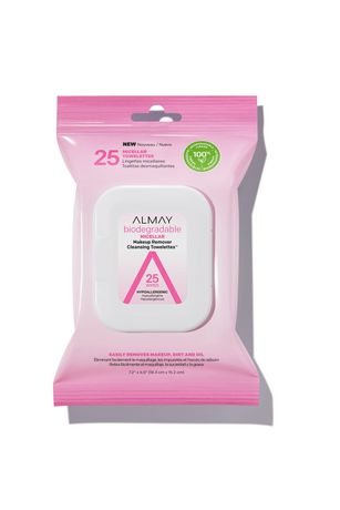 Almay Biodegradable Micellar Makeup Remover Cleansing Towelettes - image 1 of 5