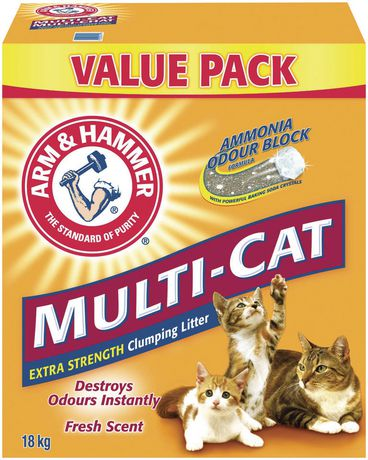 Arm & HAMMER™ Multi-Cat Clumping CAT Litter - image 3 of 4