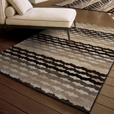 orian rugs eureka black area rug walmart canada. Black Bedroom Furniture Sets. Home Design Ideas