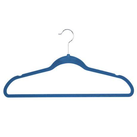 Honey-Can-Do Honey Can Do Flocked Suit Hanger 25 Pk – Blue - image 3 of 3