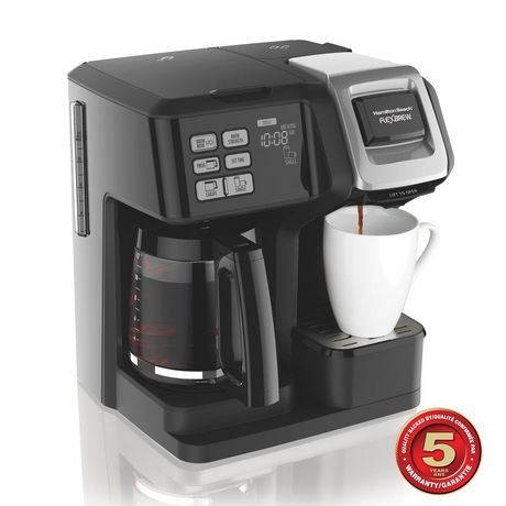Canadian Tire Small Coffee Maker : Hamilton Beach FlexBrew 2-Way Coffee Maker Walmart Canada