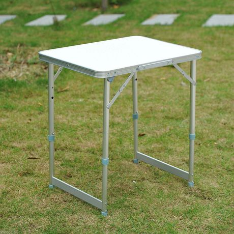 Outsunny Folding Adjustable Patio Picnic Table - image 1 of 1