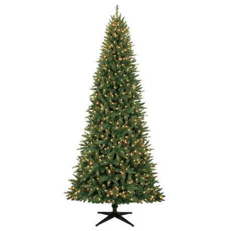 Holiday Time 9' Williams Quick Set Slim Pine with Clear Lights ...