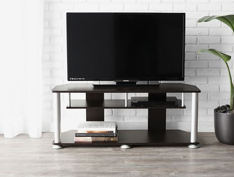 Mainstays tv stand for Table basse pour tele ecran plat