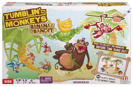 Fisher-Price Tumblin Monkeys Bannana Bandit - image 1 of 4