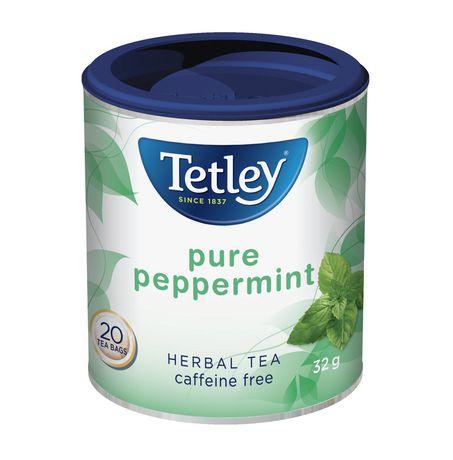 Tisane à la menthe poivrée pure de Tetley - image 1 de 2