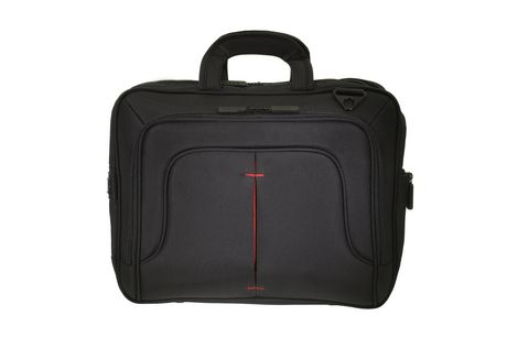 Eco Style Tech Pro TopLoad Checkpoint Friendly Black/Red Case - image 1 of 4