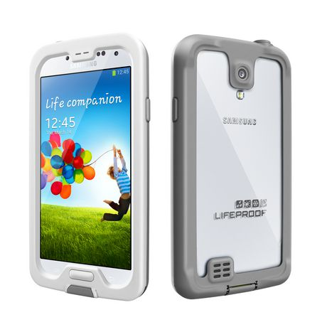 Lifeproof fre Case for Samsung Galaxy S4 - White&Grey - image 1 of 2