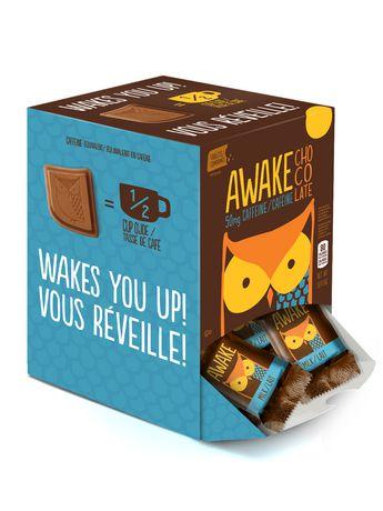 AWAKE Caffeinated Milk Chocolate Single Bite - image 1 of 2 ...