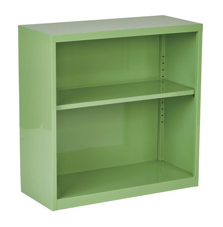 "OSP Designs 28"" Green Metal Bookcase - image 1 of 4"