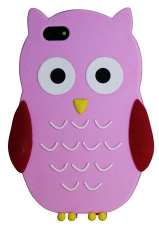 Exian Case for iPhone SE 5/5s - Silicon Owl - image 1 of 3