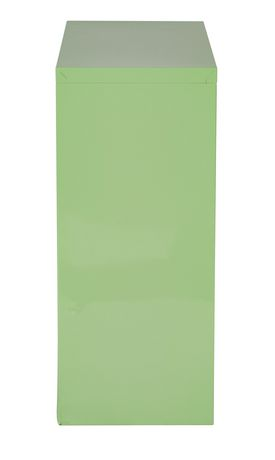 "OSP Designs 28"" Green Metal Bookcase - image 3 of 4"