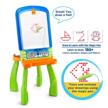 VTech® Digiart Creative Easel™ Interactive Learning Toy - English Version - image 6 of 9