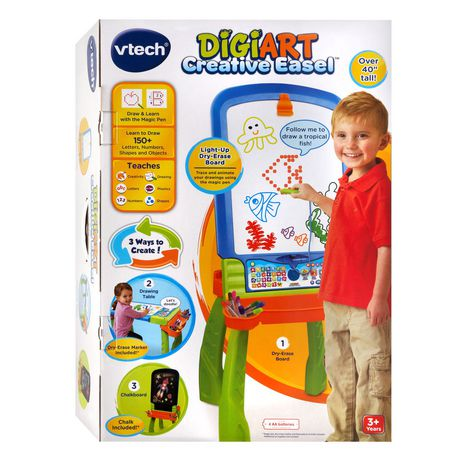 VTech® Digiart Creative Easel™ Interactive Learning Toy - English Version - image 9 of 9